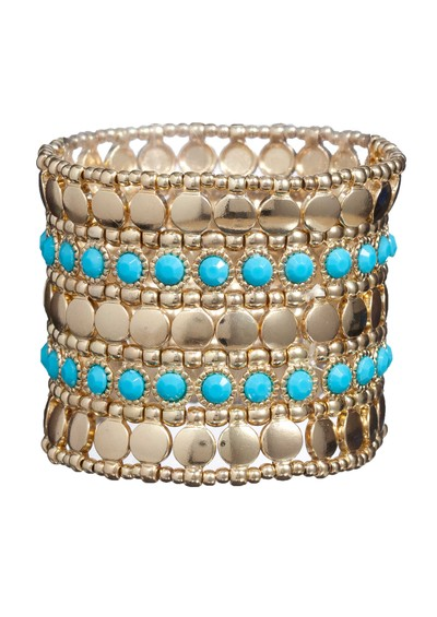 Ingenious Stretch Cuff - Turquoise main image