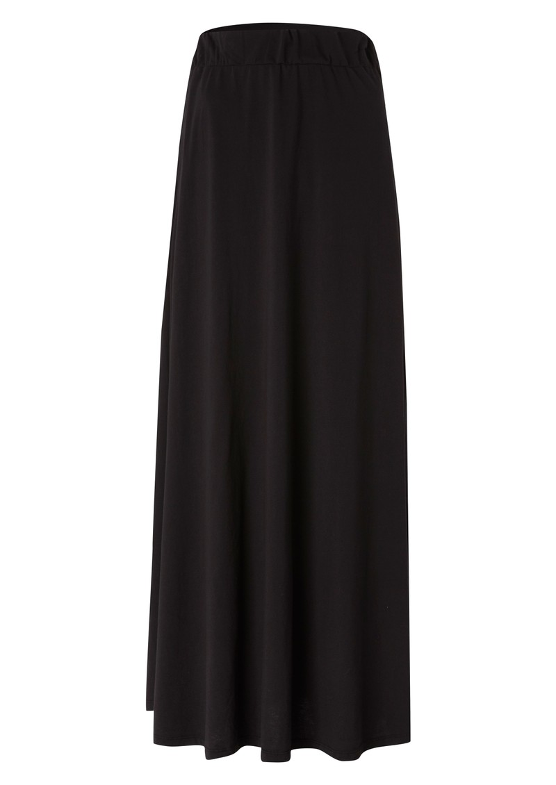 Jersey Maxi Skirt - Black main image