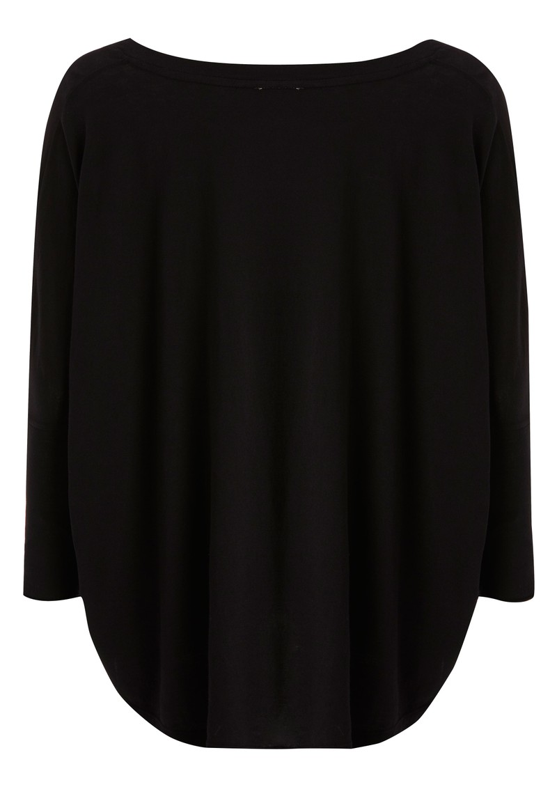 Jersey Circle Top - Black main image