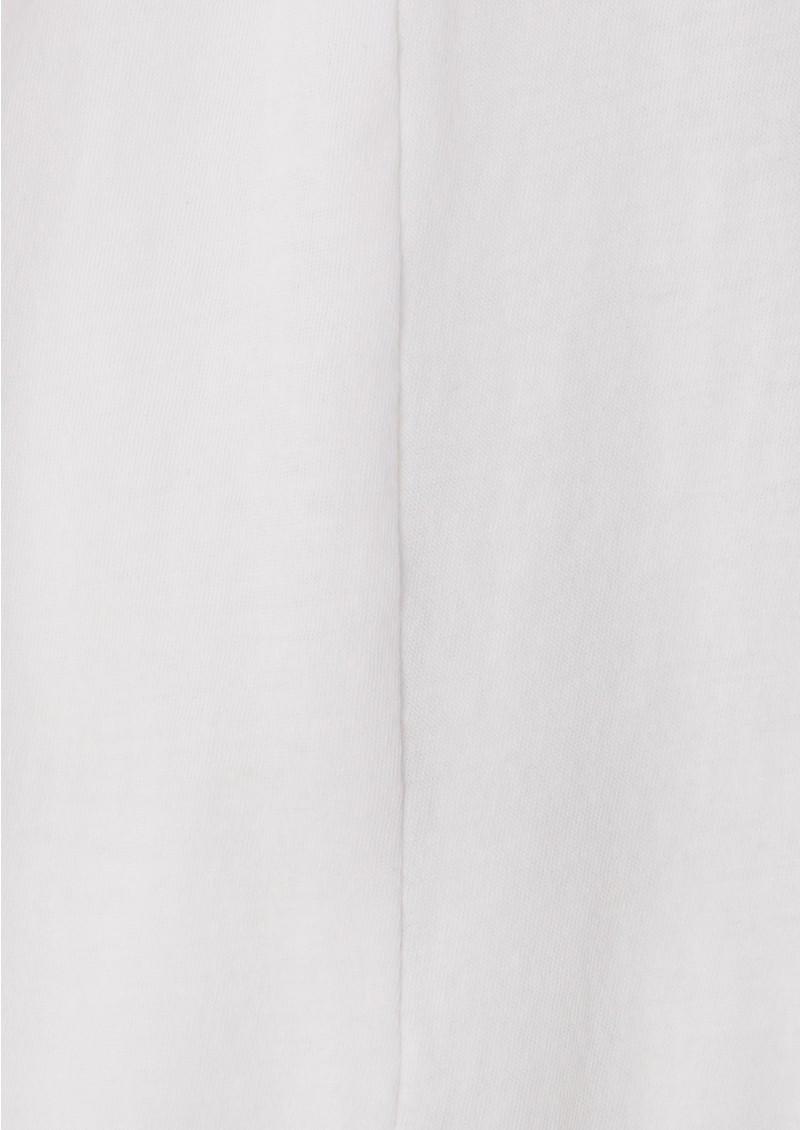 Bobi Jersey Boho Top - White main image