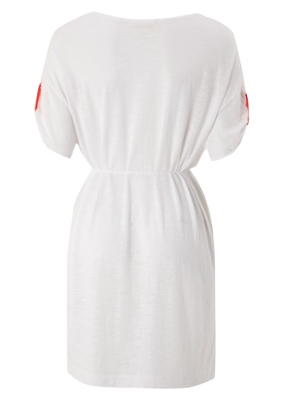 American Vintage Jacksonville U Neck Dress - White main image
