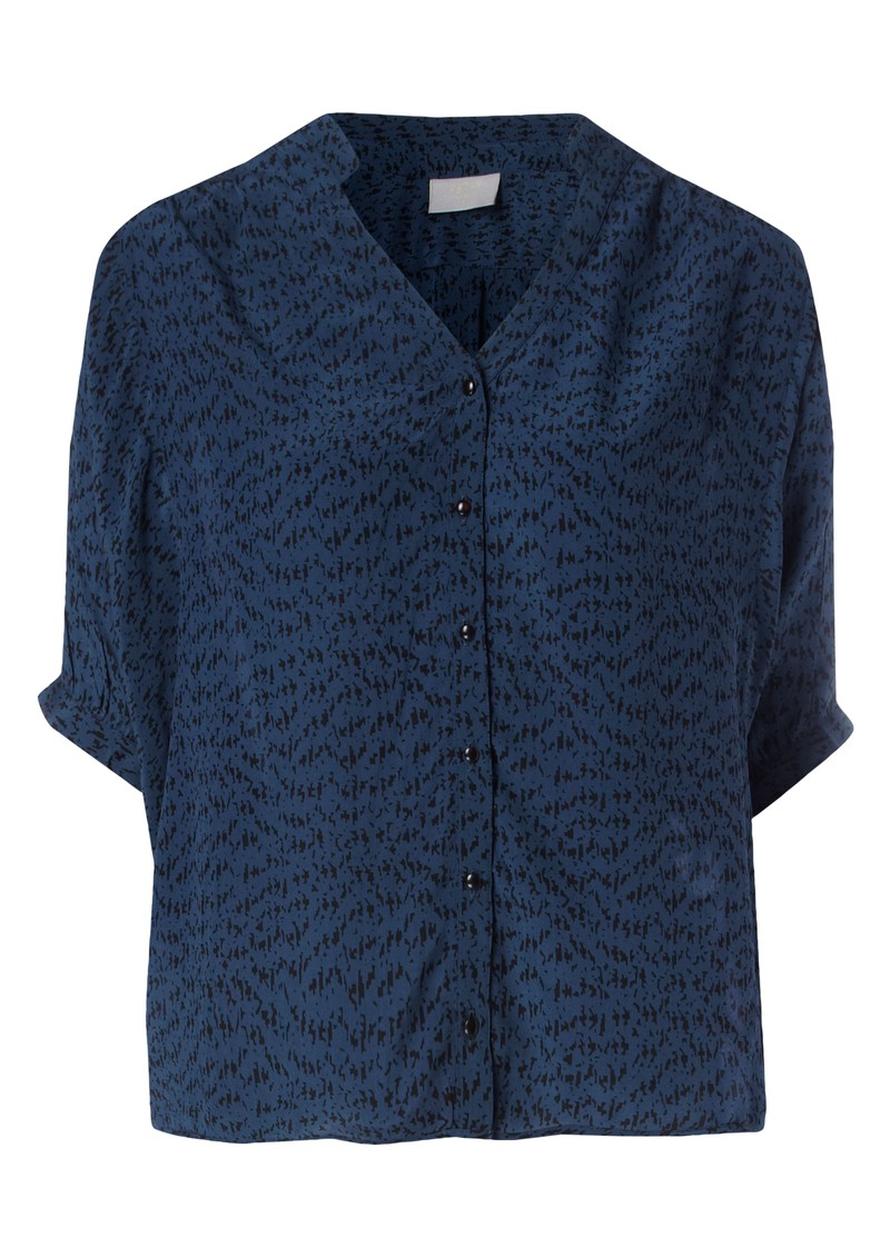 Coda Silk Blouse - Blue main image