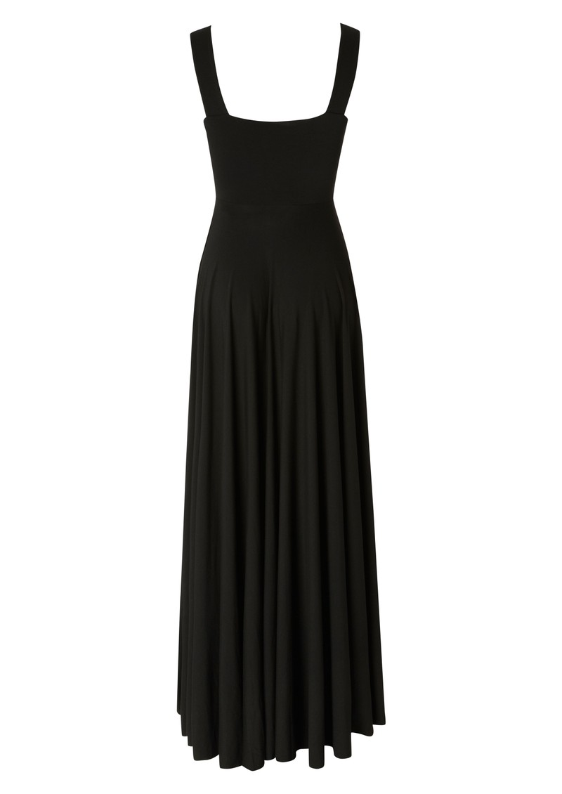 Butter By Nadia Cross Over Gown - Black main image