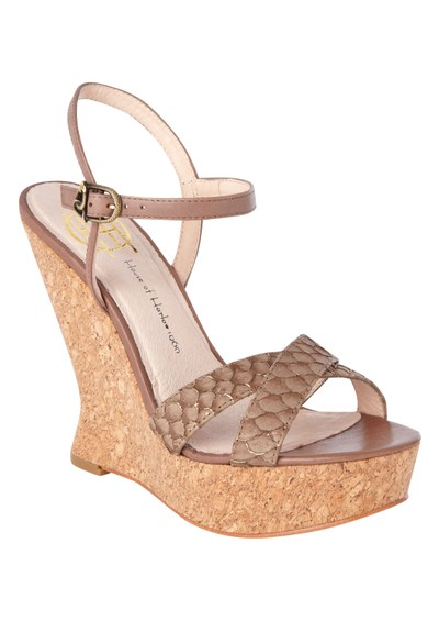 House Of Harlow Pat Wedges - Brown main image