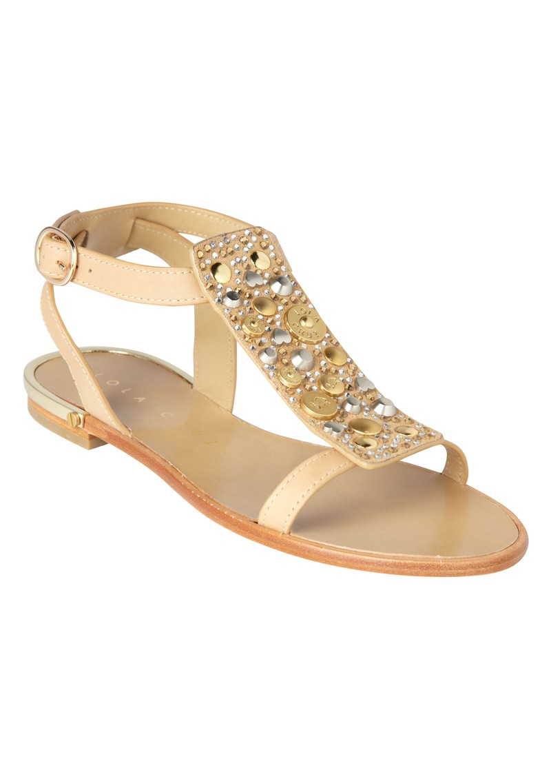 Flat Sandals - Beige main image