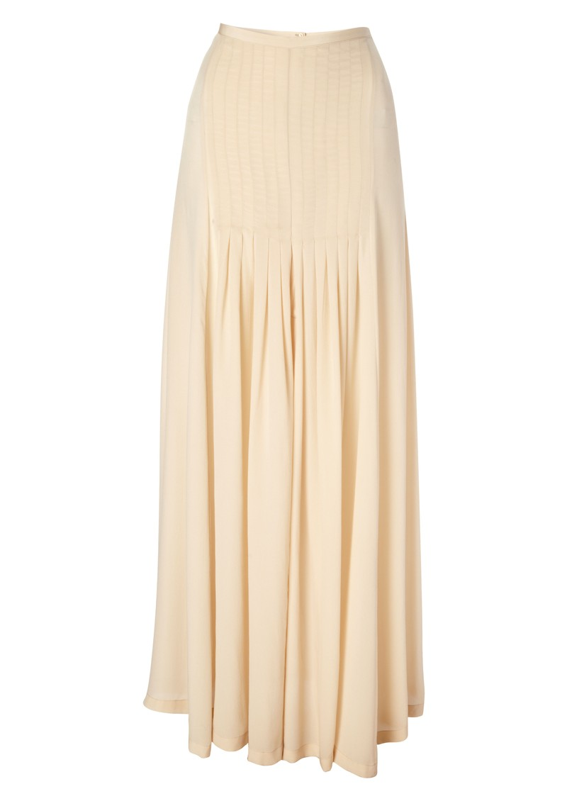 Jane Silk Maxi Skirt main image