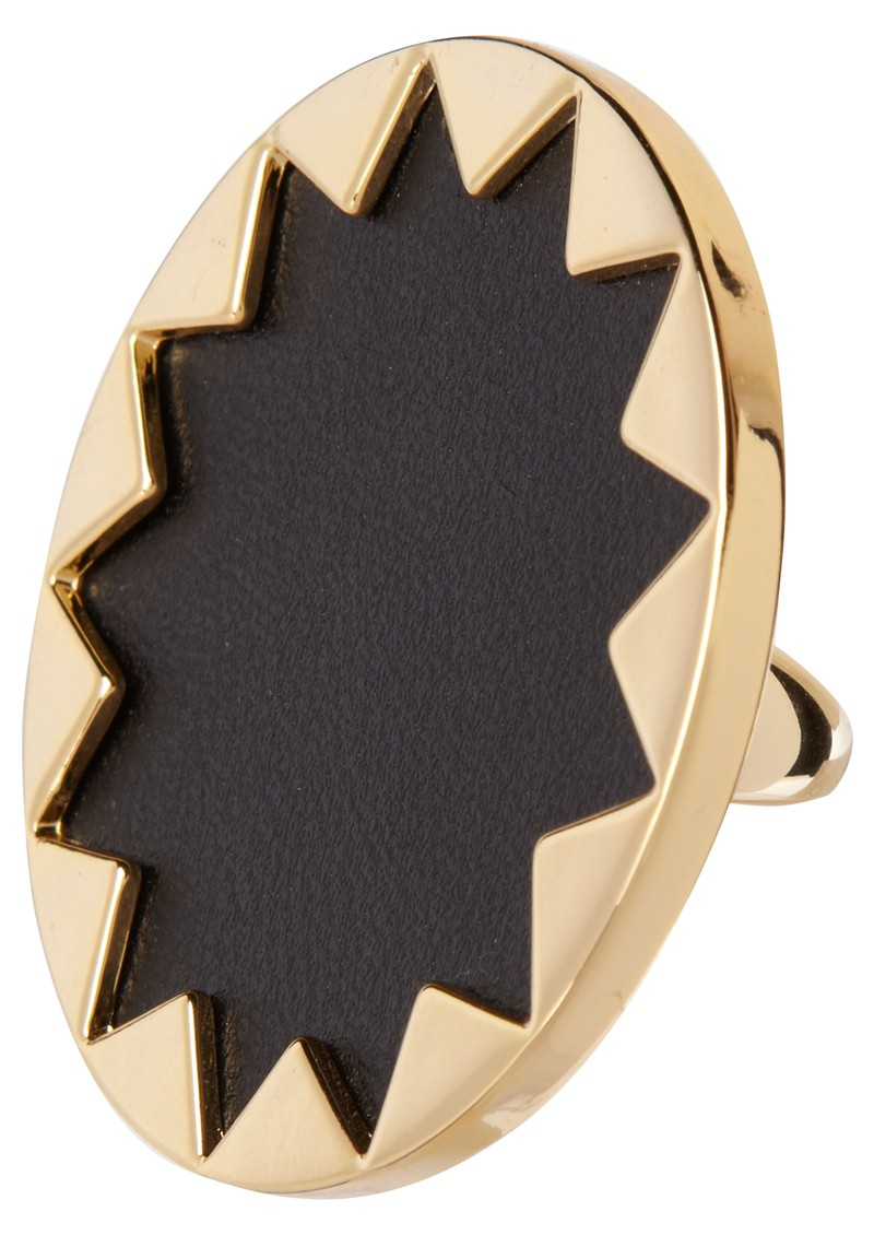 House Of Harlow Sunburst Ring - Black main image