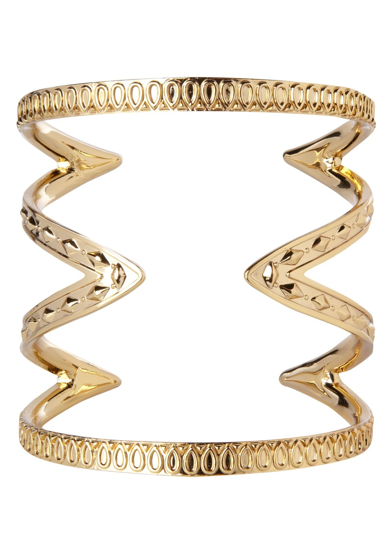 House Of Harlow Cut Out Cuff - Gold main image