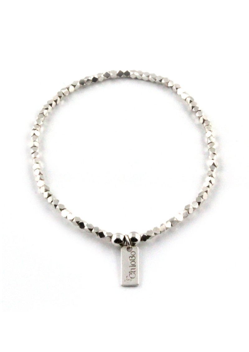 ChloBo Dreamlands Carly Mini Silver Bracelet main image