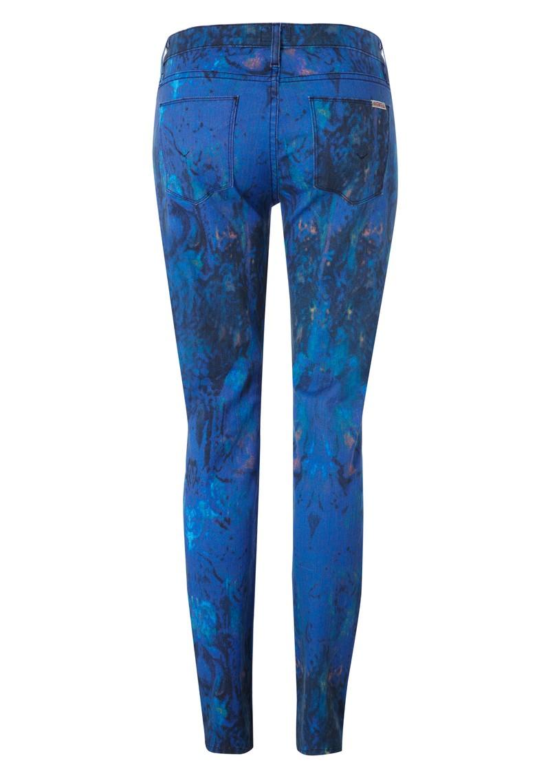 Hudson Jeans Mid Rise Nico Super Skinny Jeans - Nebula main image
