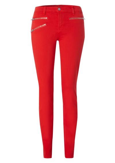 J Brand 821 Zoey Mid Rise Skinny Jeans - Lipstick main image