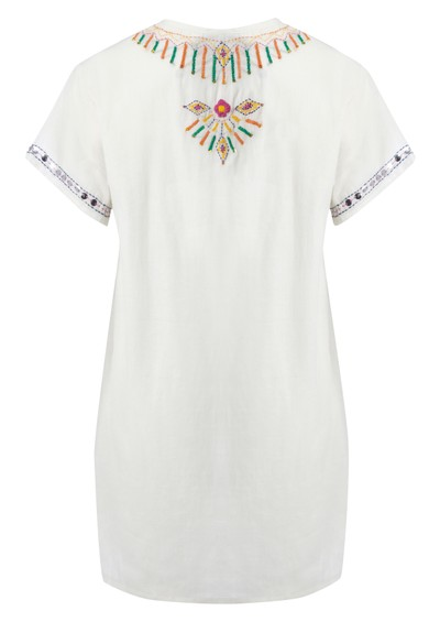 Antik Batik Assini Dress - White main image