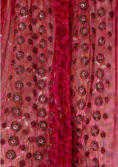 Antik Batik Tica Djellahab Silk Dress - Red main image