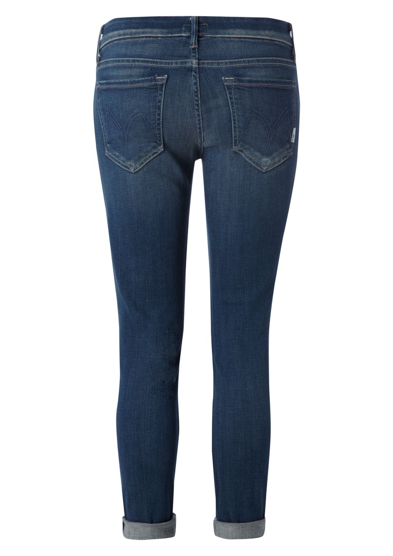 Mother Looker Cropped Skinny Jean - Pepper main image