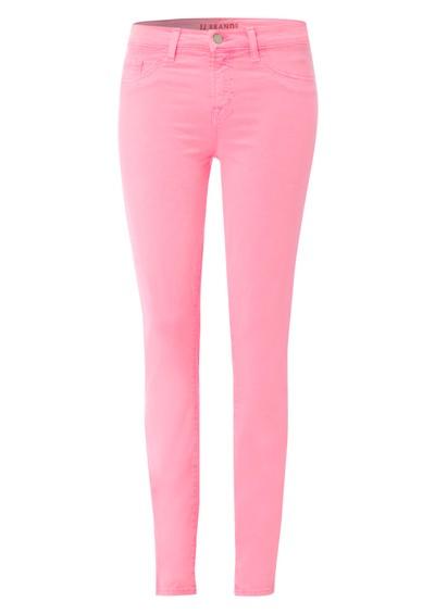 J Brand 811 Mid Rise Skinny Leg Jean - Neon Pink main image