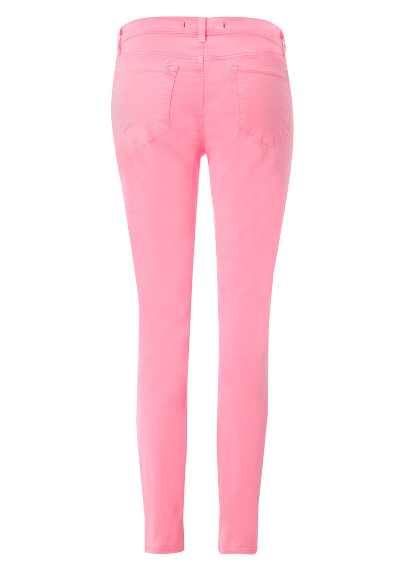 811 Mid Rise Skinny Leg Jean - Neon Pink main image