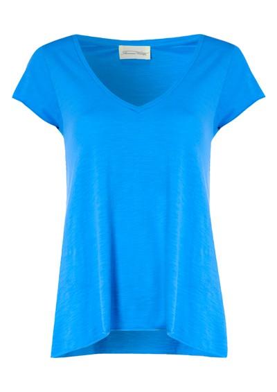 American Vintage Jacksonville Short Sleeve Top - Turquoise  main image