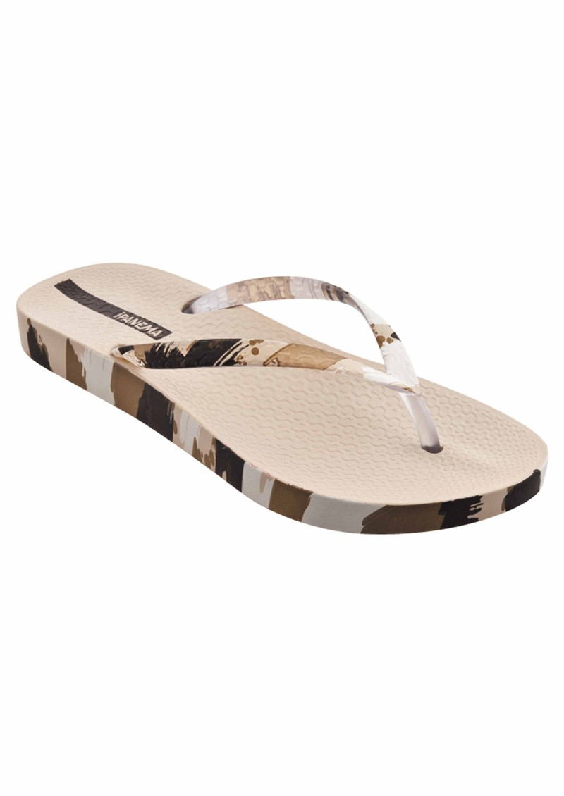 Fashion Flip Flops - Beige main image