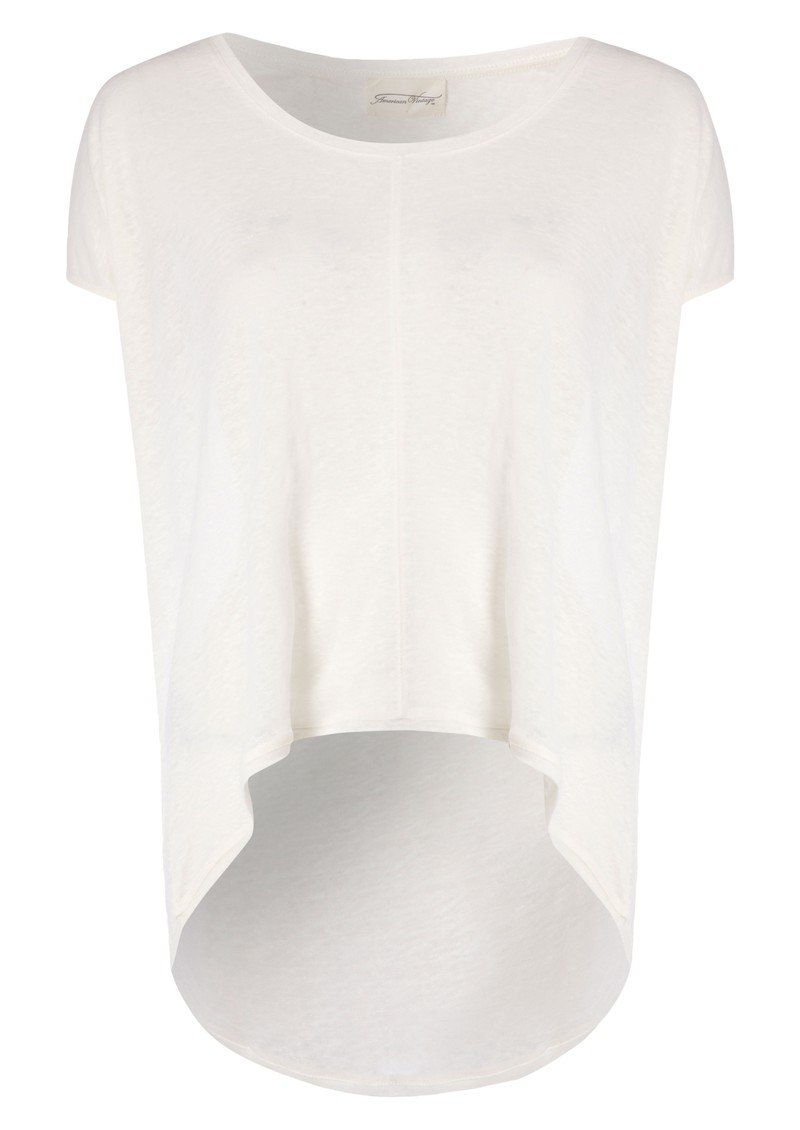 Free Short Sleeve Linen Tee - Flash Pearl main image