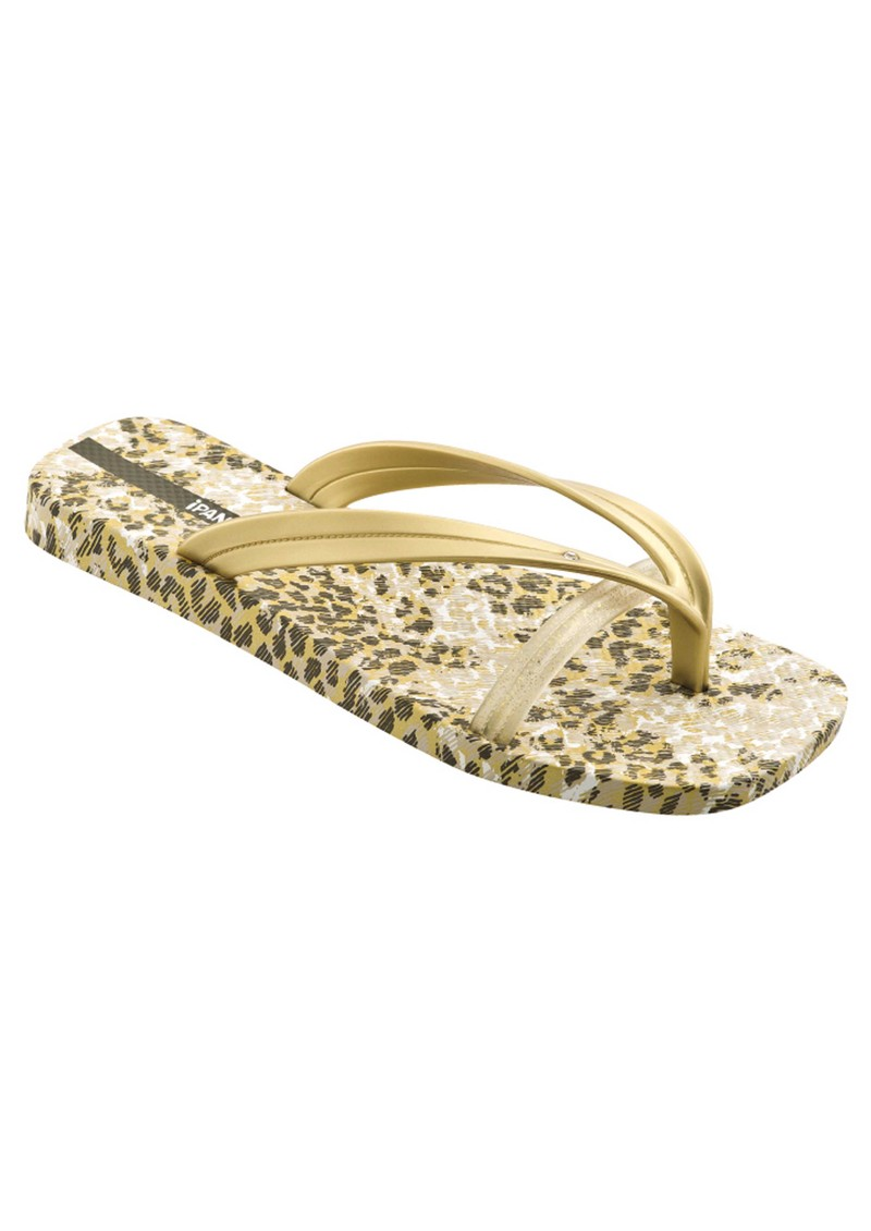 Bright Flip Flops - Gold main image