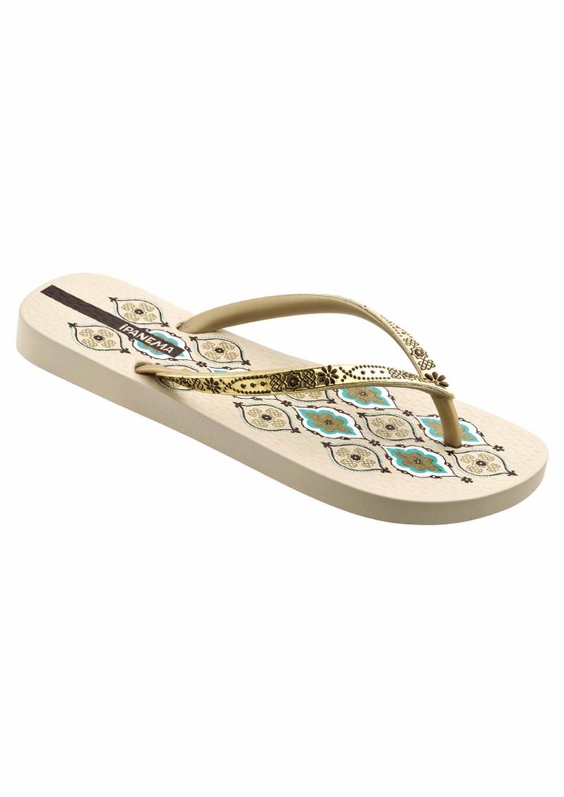 Ipanema Persia Flip Flops - Beige main image