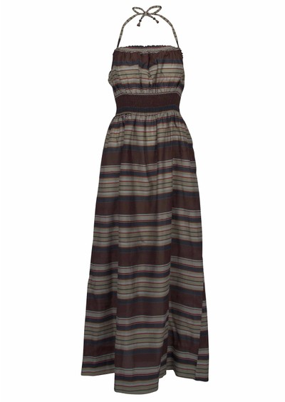 Day Birger et Mikkelsen  Brisa Silk Blend Maxi Dress - Blue main image