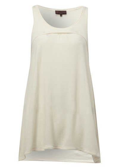 Great Plains Safari Knit Tank - Cream main image