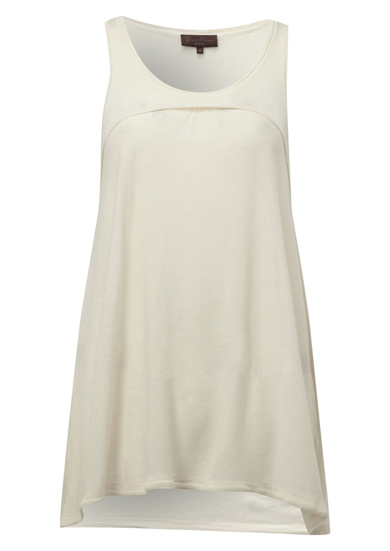Safari Knit Tank - Cream main image