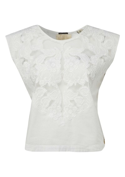 Maison Scotch Vintage Tee - Off White main image
