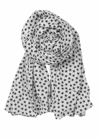 Becksondergaard Summer Star's Scarf - Off White main image