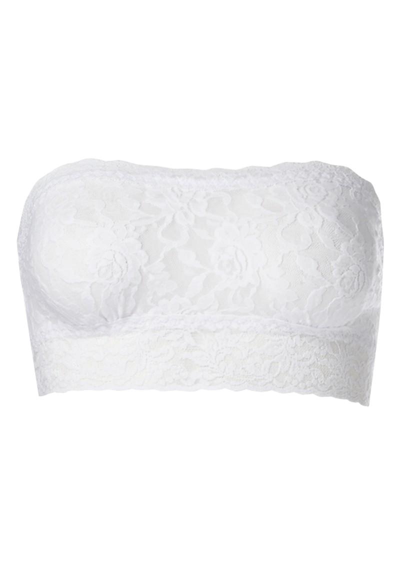 Hanky Panky Lace Bandeau - White main image