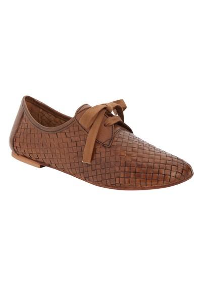 H By Hudson Totes Calf Flat Shoes - Tan main image