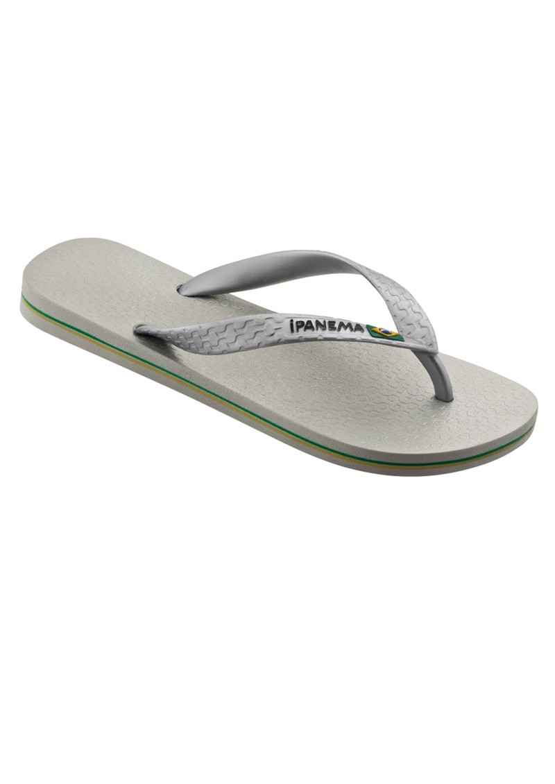 Ipanema Brazil Flip Flops - Silver main image