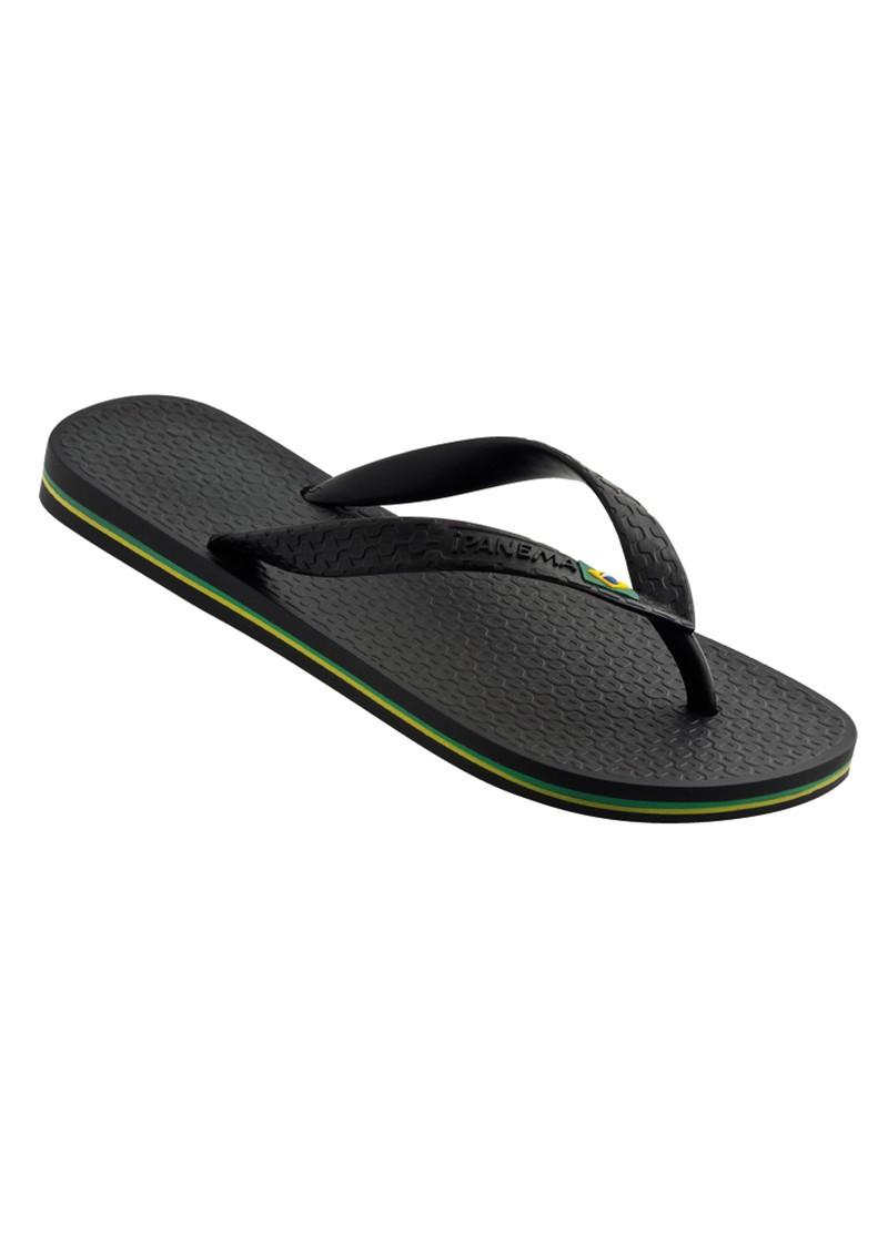 Ipanema Brazil Flip Flops - Black main image