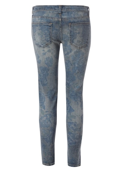 Current/Elliott Stiletto Skinny Jean - Blue Rose main image