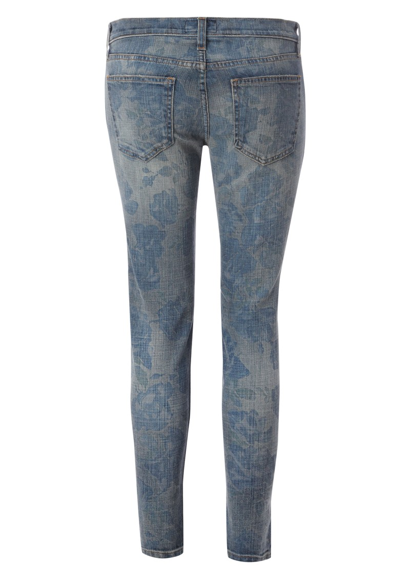 Stiletto Skinny Jean - Blue Rose main image