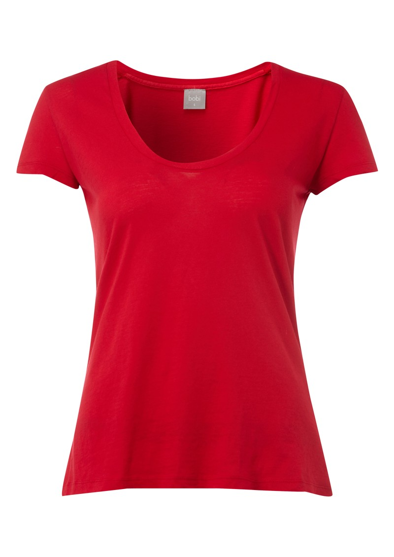 Bobi Oversized Scoop Neck Tee - Cuba main image