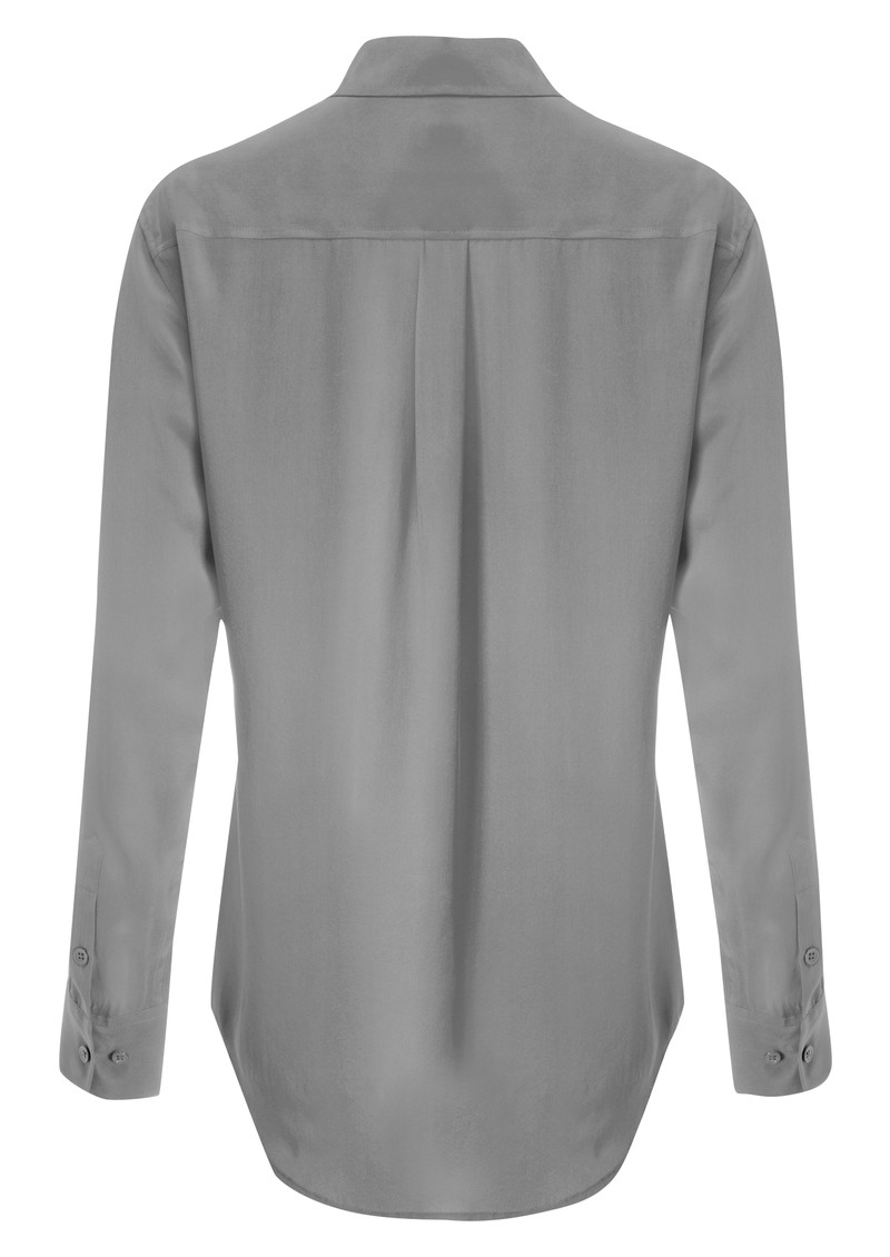 Signature Silk Shirt - Steel main image