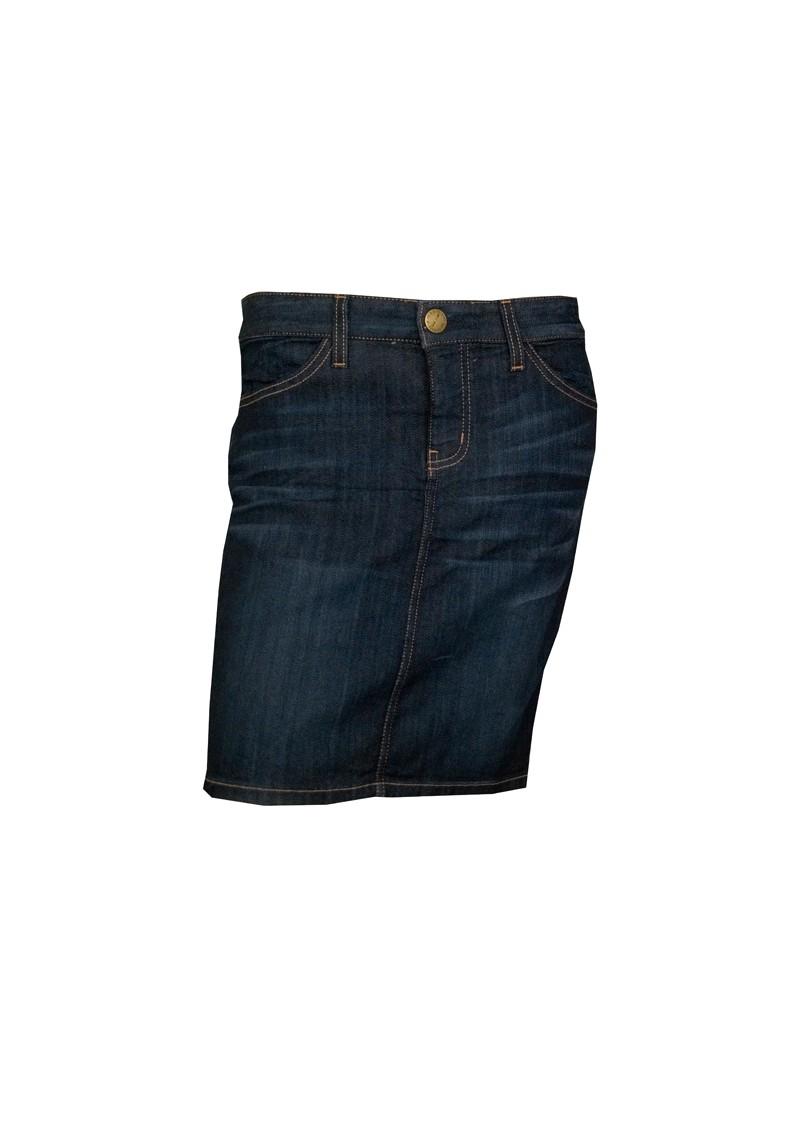 current elliott the 5 pocket denim pencil skirt character