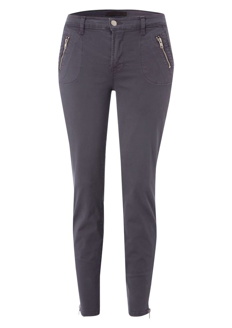 855 Mid Rise Ginger Cropped Skinny Jeans - Vintage Plum main image