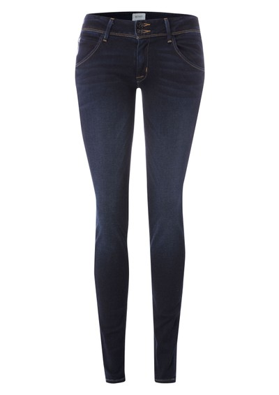 Hudson Jeans Collin Mid Rise Skinny Jean - Stockport Navy main image