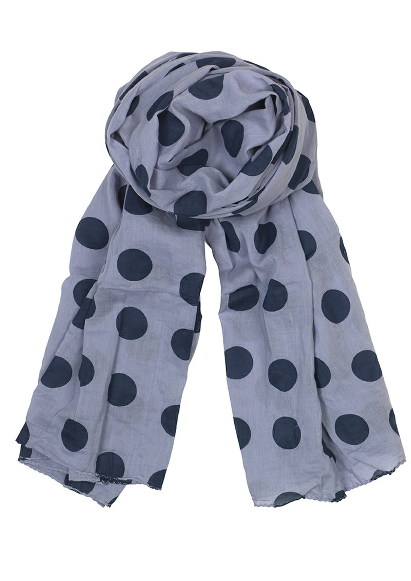 Big Summer Dot's Scarf - Lavender main image
