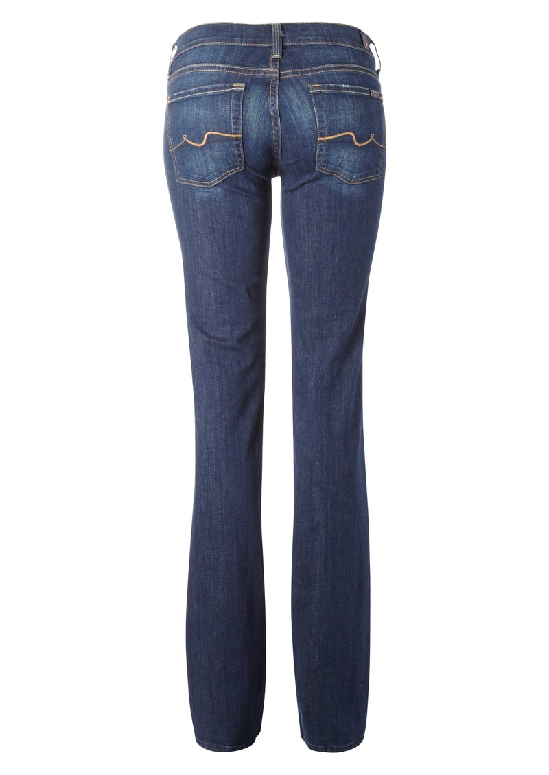 7 For All Mankind Straight Leg Jean - Warm Medium Blue main image