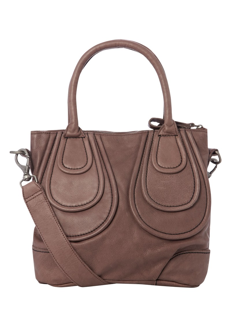 Johanna Leather Bag - Wine main image