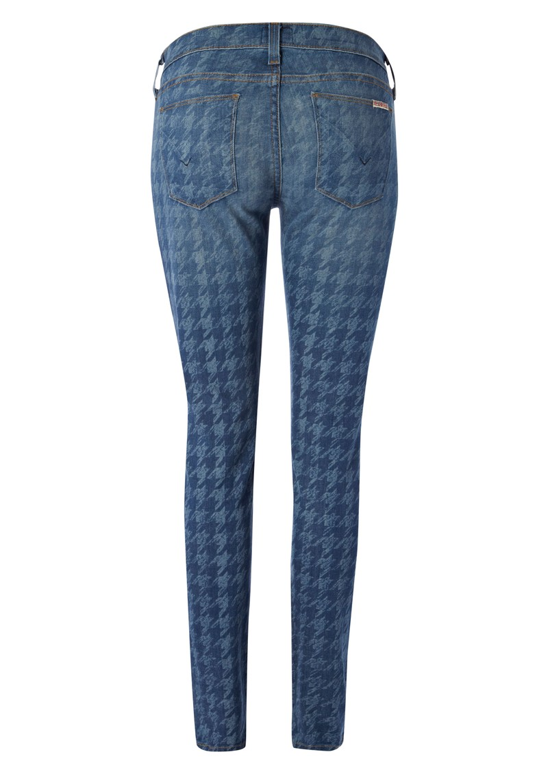 Hudson Jeans Krista Cropped Mid Rise Skinny Jeans - Nottingham main image