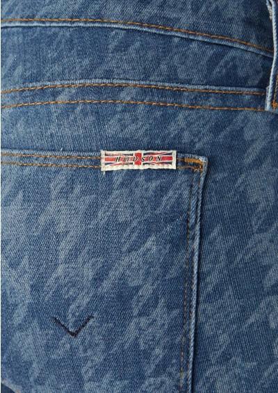Hudson Jeans Krista Cropped Mid Rise Skinny Jeans - Nottingham main image