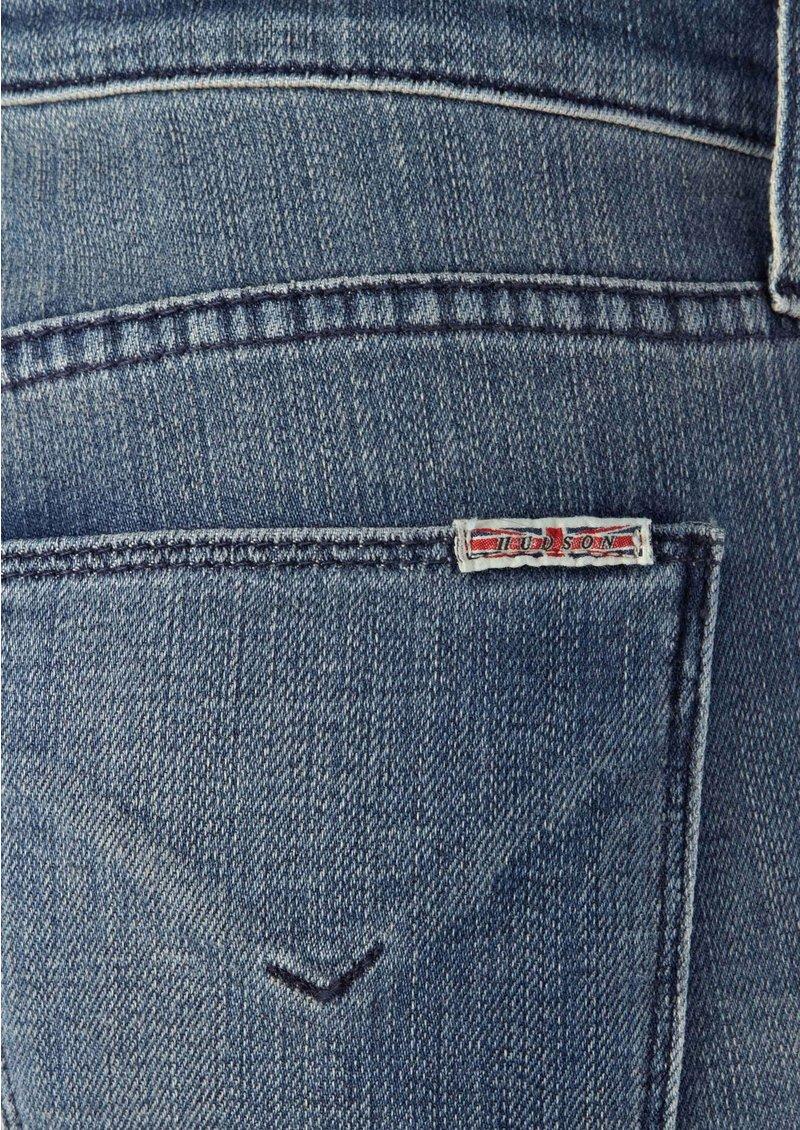 Hudson Jeans Tilda Mid Rise Cuffed Hem Straight Leg - Dover main image