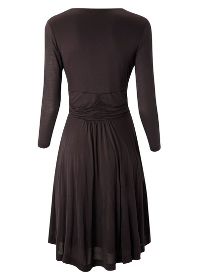 Great Plains Dusty Jersey Dress - Raisin main image