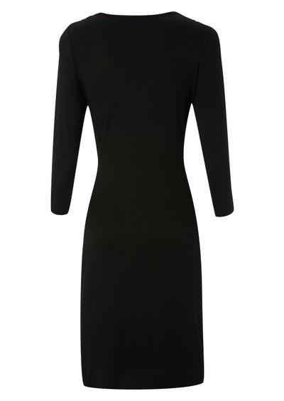 Great Plains Alice Drape Jersey Dress - Black main image
