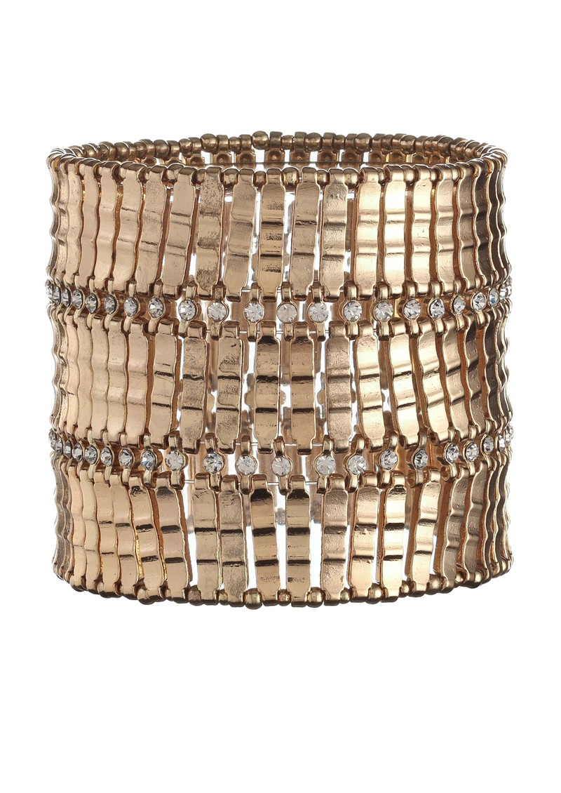Gold Stretch Cuff - Gold main image